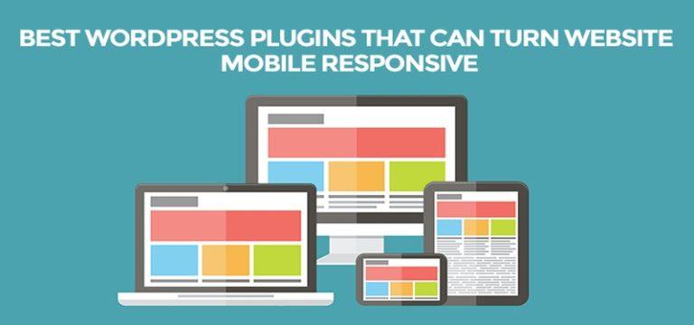 Best WordPress Plugins to Easily Create Mobile-Responsive Websites