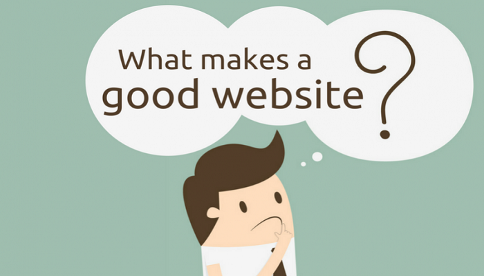 What makes a Good webpage?
